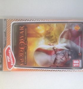 Диск psp God of war