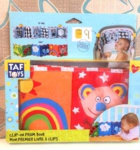 Двусторонняя растяжка на кроватку Taf Toys