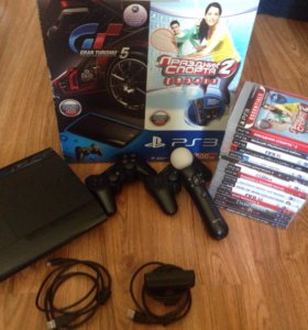 Sony PlayStation 3 super slim 500gb (move)