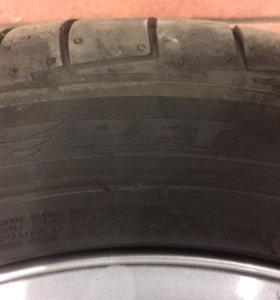 Резина и диски на BMW 3 r16