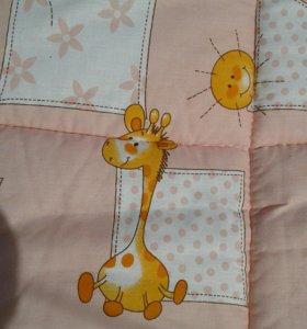 Бортики и подушка в кроватку