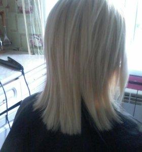 Выпрямление волос до 6 мес