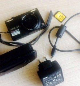Цифровой фотоаппарат Nikon Coolpix S 6100