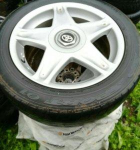 Колеса в сборе от Toyota