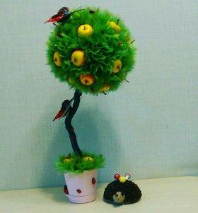 Дерево счастья. Топиарий.