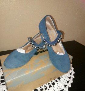 Туфли замшевые для девочки