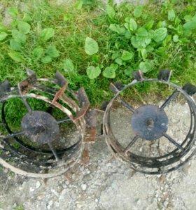 Колеса грунтозацеп для мотоблока