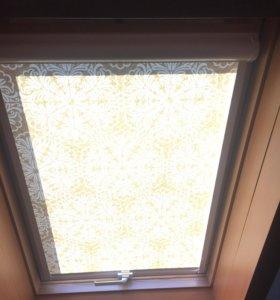 Кассетные шторы на мансардные окна