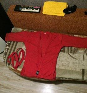 Куртка для самбо-рукопашного боя
