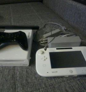 Wii u basic + геймпад + 3 игры