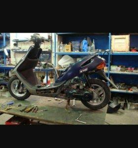 Ремонт мототехники,скутаров,бинзопил,кротов