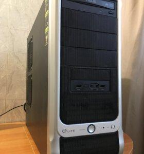 Компьюте на intel i3 + монитор