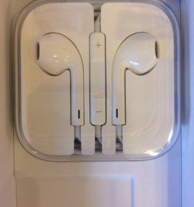 Наушники для IPhone 5 S оригинал