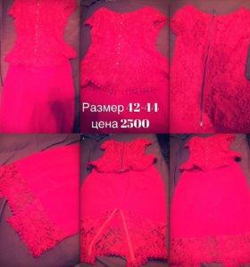 Костюм-платье