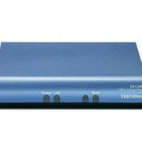 Сетевой файловый сервер TS-U100