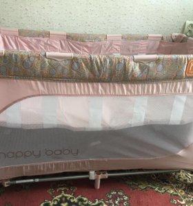 Кровать-манеж(2 в1)