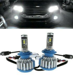 Лампы светодиодные Авто Мото H7 H 7 в фары
