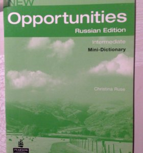 Mini-dictionary new opportunities