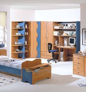 Шкаф, стеллаж, комод, стол