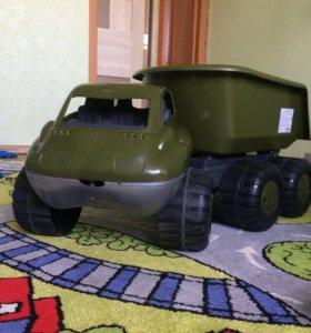 Машинка Самосвал.Военный Дакар