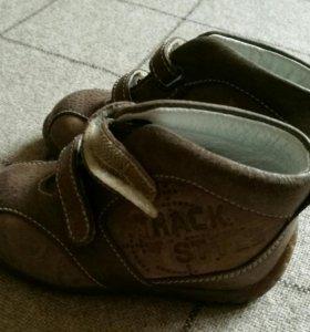 Детские ботинки.20 размер.