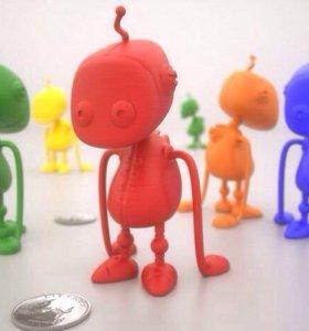 Миниатюрный робот трудяга