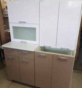Кухня Ксения 1,2 белый/капучинно