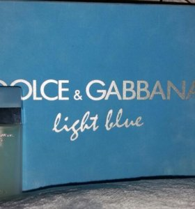 Dolce &Gabbana light blue