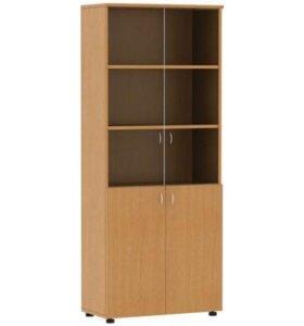 Шкаф для документов СП Мебель Этюд Бук Бавария