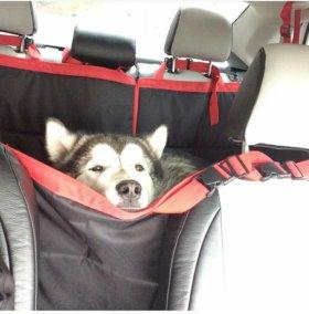 Автогамаки,накидки для перевозки собак в машине
