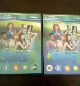 Диск The Sims 4 +Диск The Sims 4 Моды