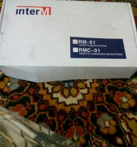 Микрофон RM-01 INTER-M