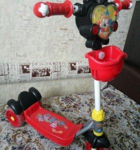 Самокат детский 3-х колёсный