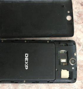 DEXP смартфон