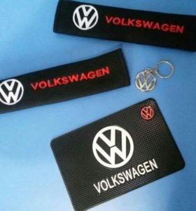 Volkswagen коврик, ремни, брелок