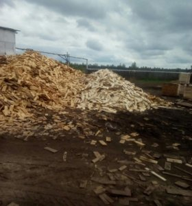 Дощечки на дрова сухие