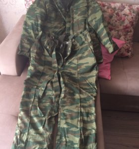 Военные зимние костюмы
