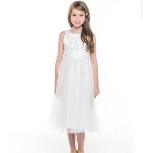 Белое платье для принцесы!