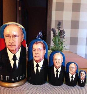 Матрешка новая Путин