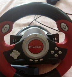 Игровой руль,педали