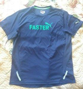 Футболка faster puma