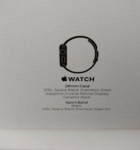 Часы Apple Watch 38mm сталь 316L
