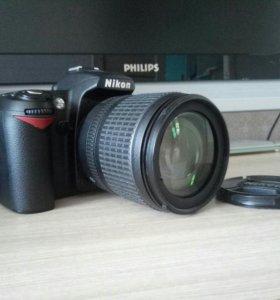 Nikon D90 объектив vr 18-105