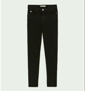 Zara Premium Jeans Черные джинсы женские