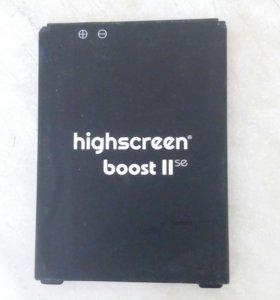 Батарея на higscreen boost 2