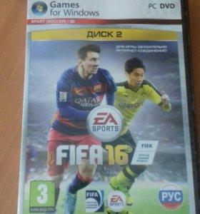 Продам новый диск FIFA 16