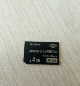 Карта памяти для PSP