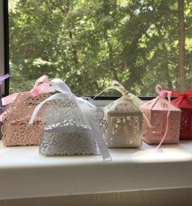 Коробочки для свадьбы