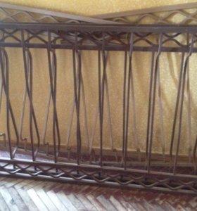 Ограждение для балкона (кованные)
