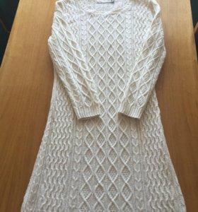 Тёплое вязаное платье Dolce Mela